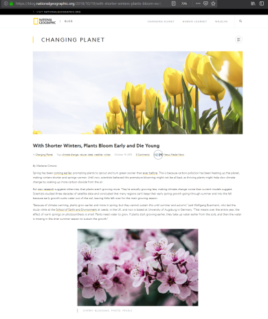 2018-11-23 17_22_54-With Shorter Winters, Plants Bloom Early and Die Young – National Geographic Blo