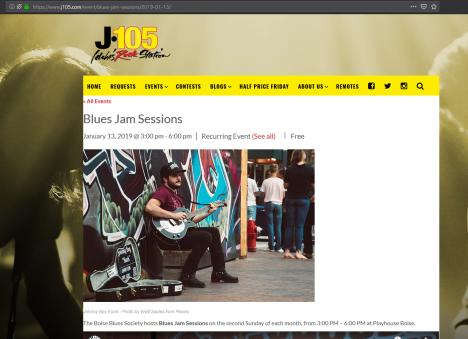 2018-12-21 13_56_22-Blues Jam Sessions _ J-105, Idaho's Rock Station